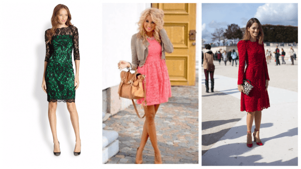 стильное клубное платье