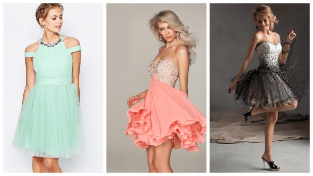 красивые клубные платья