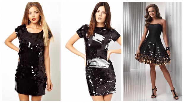 блестящие клубные платья