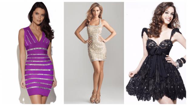 стильные клубные платья