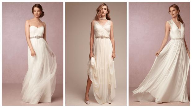 свадебное платье в греческом стиле: для любой фигуры