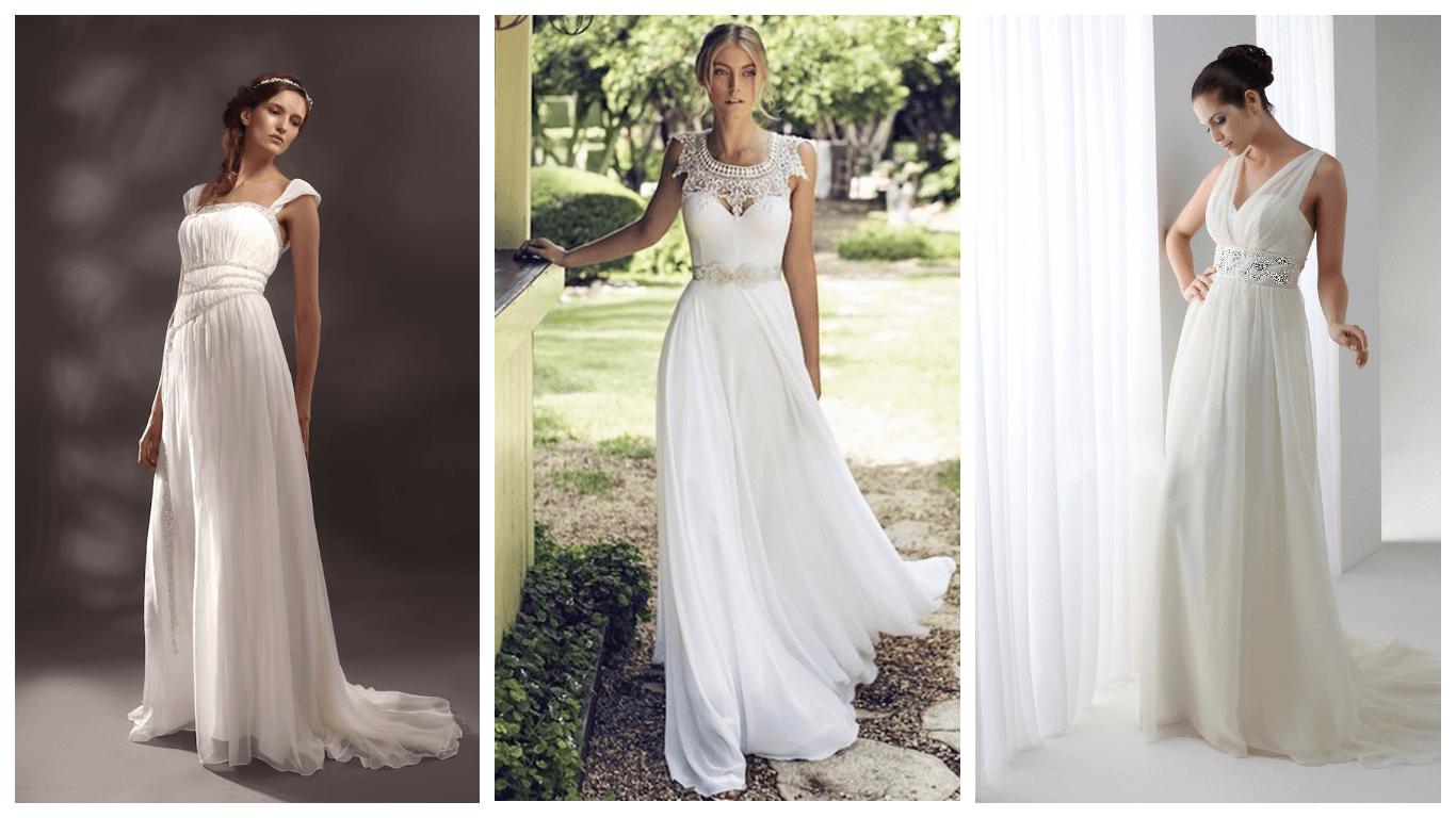 Характеристики свадебных платьев