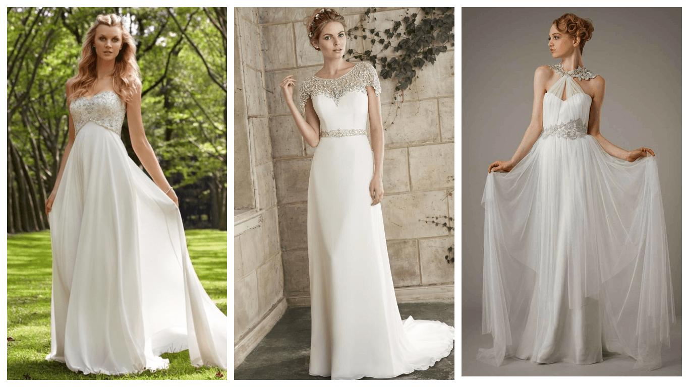 171b8b8f3d7 Идеи! Модных свадебных платьев греческих 2019 2020 года фото