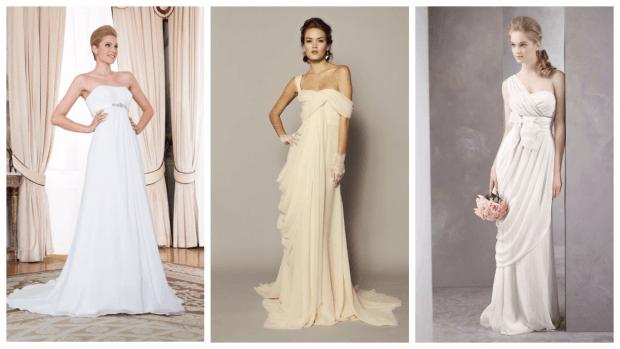 модные свадебные платья 2018 греческие