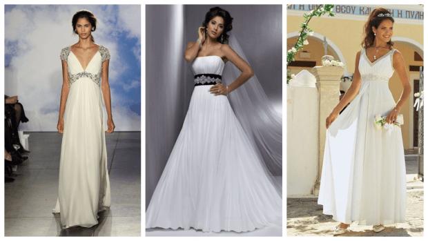 свадебные платья 2018 греческие: модные