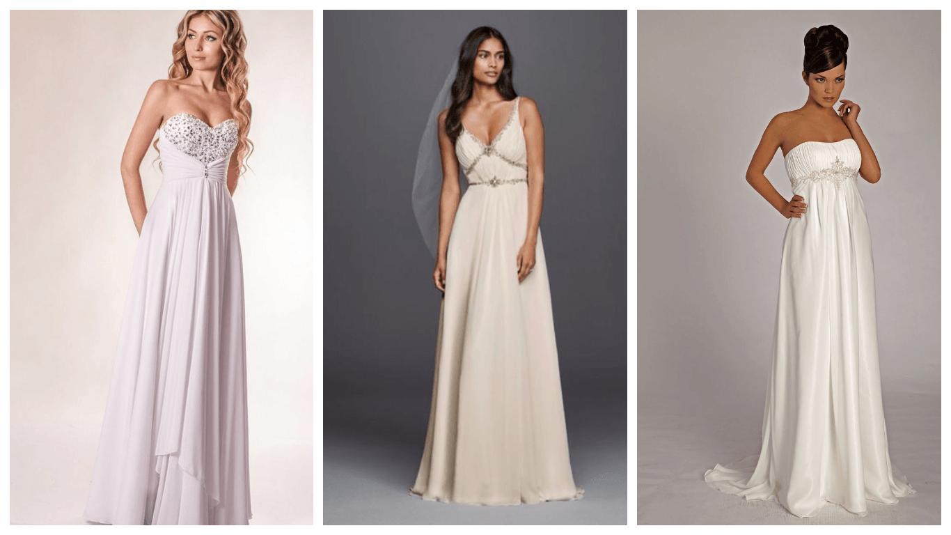 Модное свадебное платье в греческом стиле 2019 2019