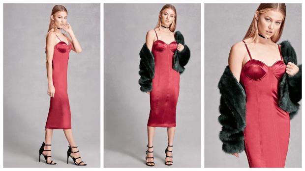 модные нарядные платья 2018: миди