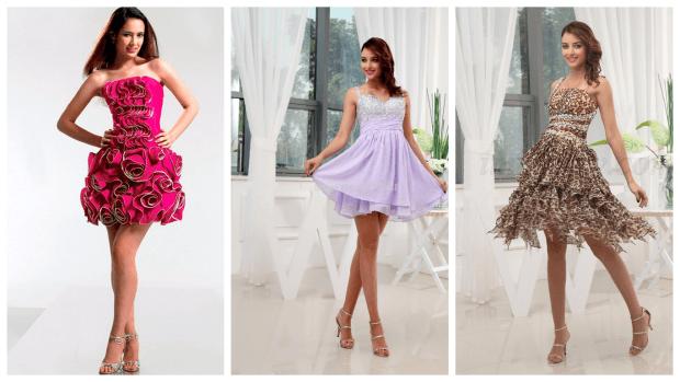 яркие нарядные платья