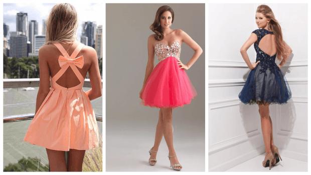 Нарядные платья 2021 года: короткие