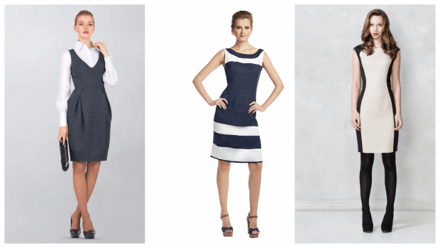 модные платья для офиса