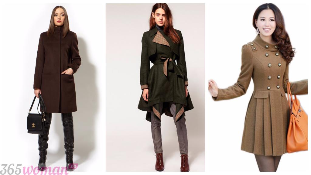 пальто милитари осень зима 2018 2019 мода