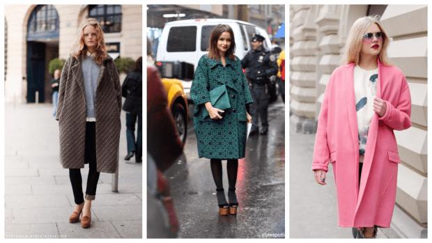 пальто оверсайз осень зима 2019 2020