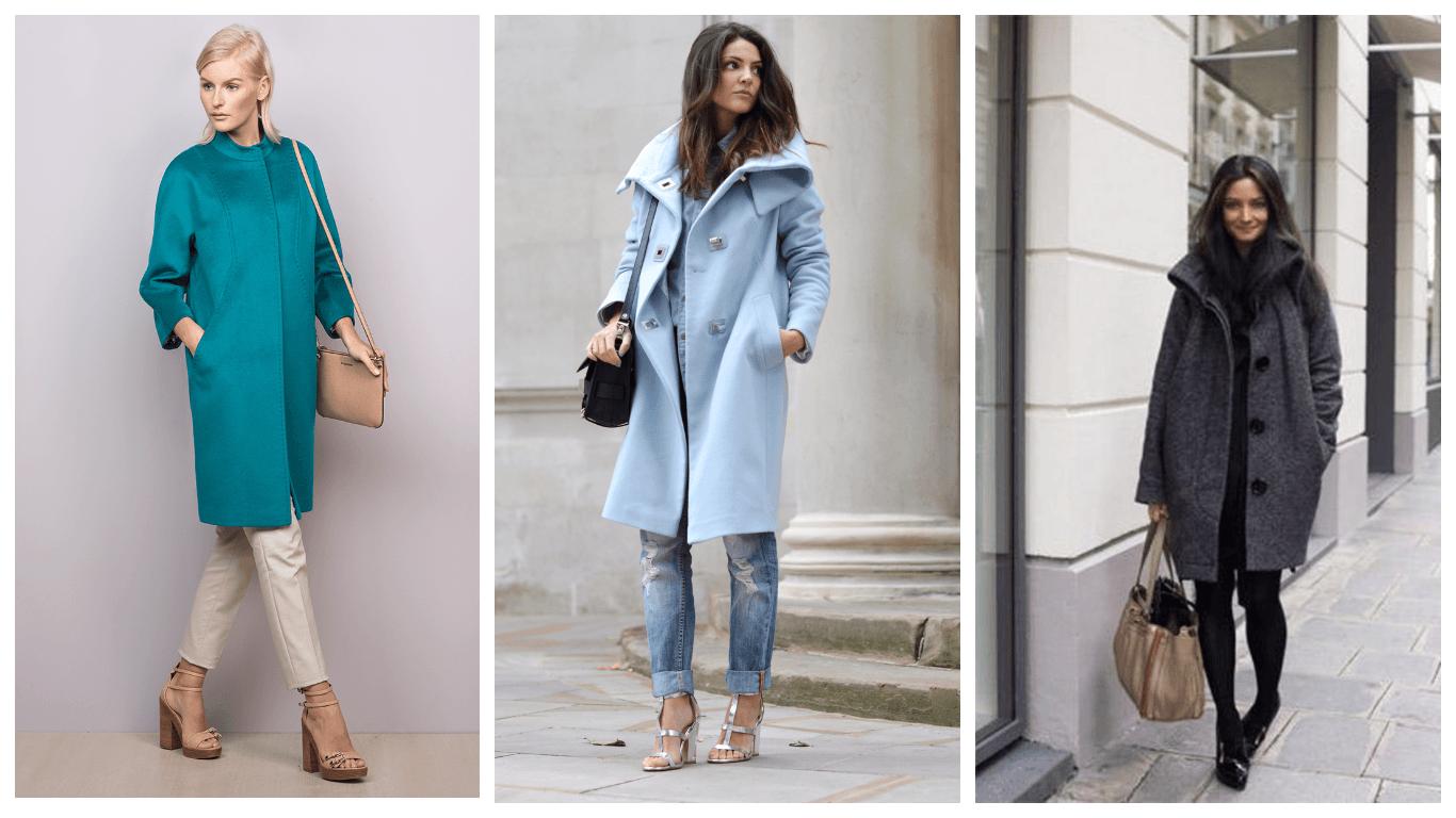 Модные цвета пальто осень 2017