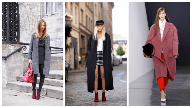 Модные пальто осень-зима 2019 2020: оверсайз