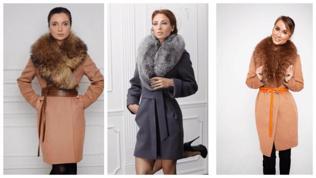 Модные пальто осень-зима 2019 2020: с меховой горжеткой