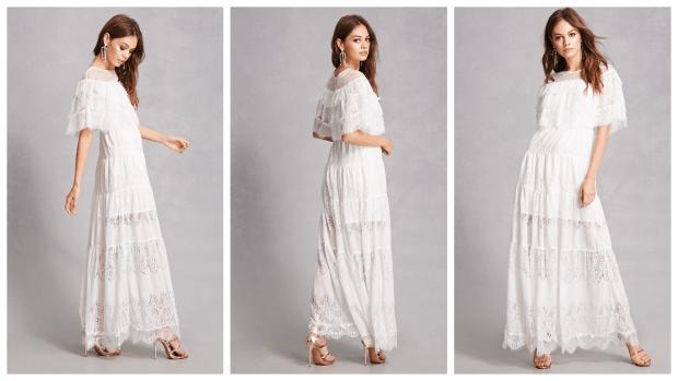 повседневные платья 2019 2020 макси белое фото