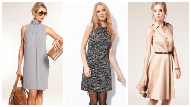 модные платья на каждый день осень-зима 2019 2020
