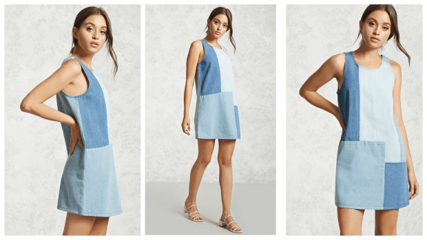 джинсовые повседневные платья 2019 2020 фото новинки