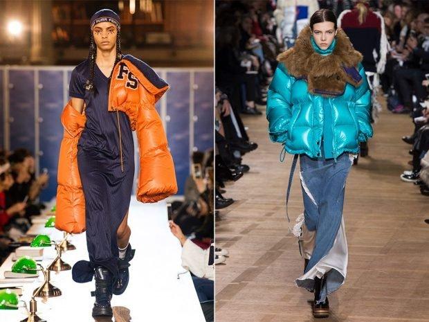 дизайнерские оранжевый и синий