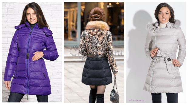 модные пуховики осень зима 2019 2020 фото