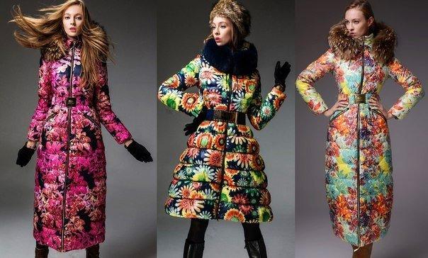 пуховики женские осень зима: яркие