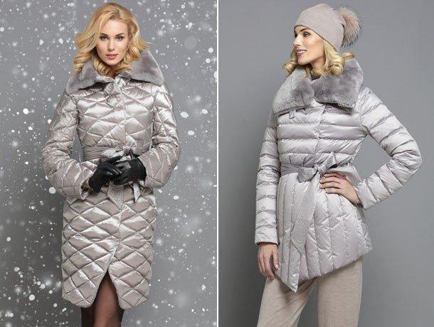 пуховики женские осень зима