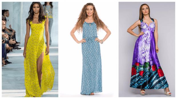модный сарафан в пол 2017-2018