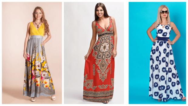 модные длинные сарафаны 2017 2018 фото новинки