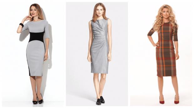 красивые строгие платья 2019 2020