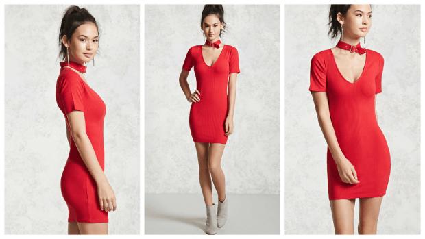 стильные строгие сексуальные платья 2019 2020 фото красный цвет