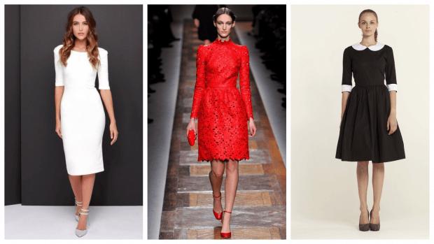 модные строгие платья 2019 2020 фото
