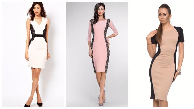 элегантные стильные строгие платья 2019 2020