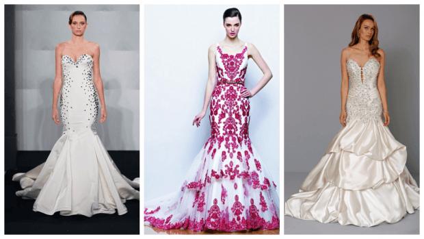модные фасоны свадебных платьев