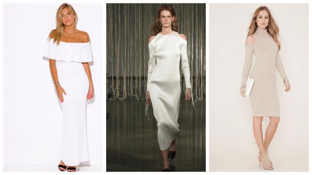 модные тенденции в одежде: открытые платья