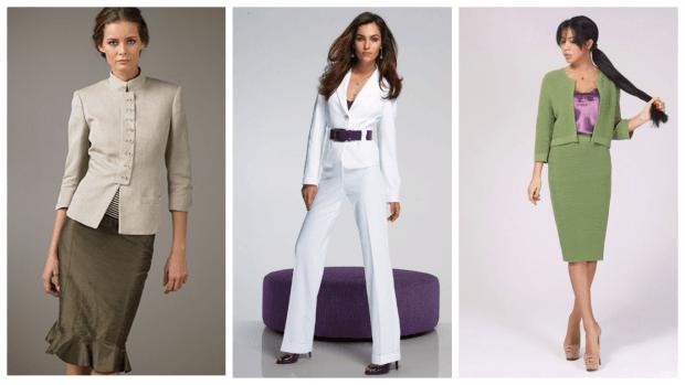 модные тенденции в одежде: стильные костюмы