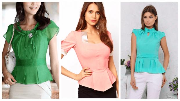 модные тенденции в одежде: блузки