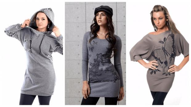 с чем носить модные туники: стильные образы