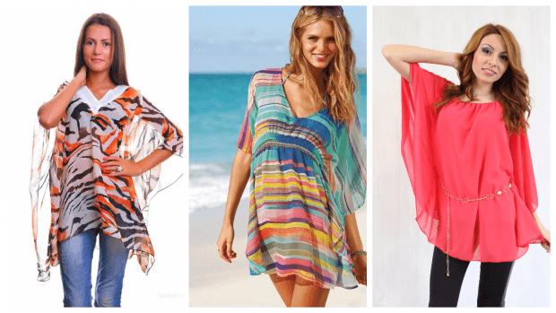 пляжные туники с чем носить