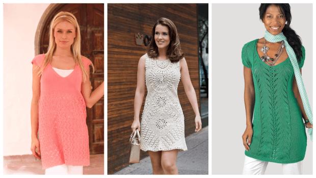 модные туники платье с чем носить