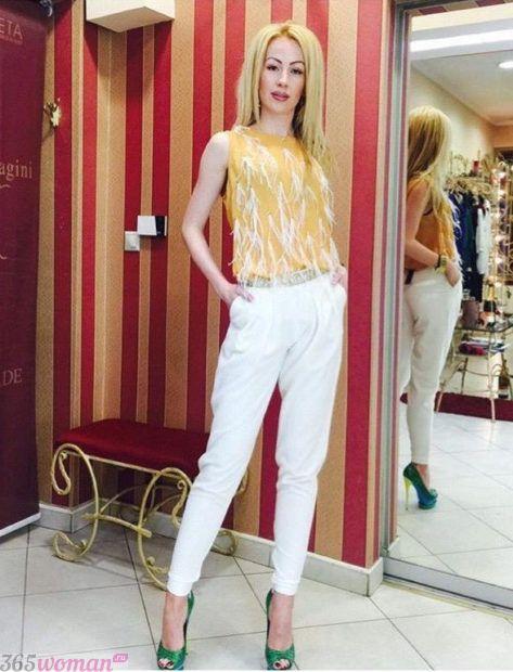 брюки галифе белые