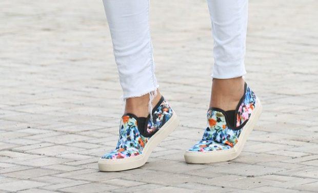 обувь под белые брюки