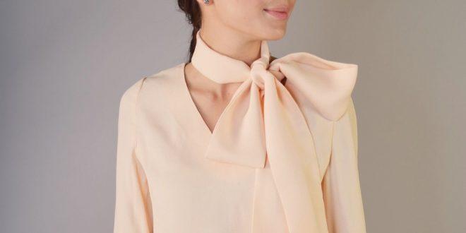 Модные блузки из шифона 2019 2020 года: фото