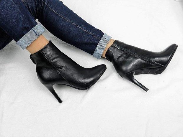 модные женские ботинки осень зима 2018 2019: на высоком каблуке фото