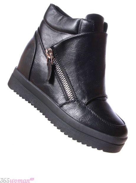 модные ботинки 2018 женские осень зима 2018 2019: на танкетке