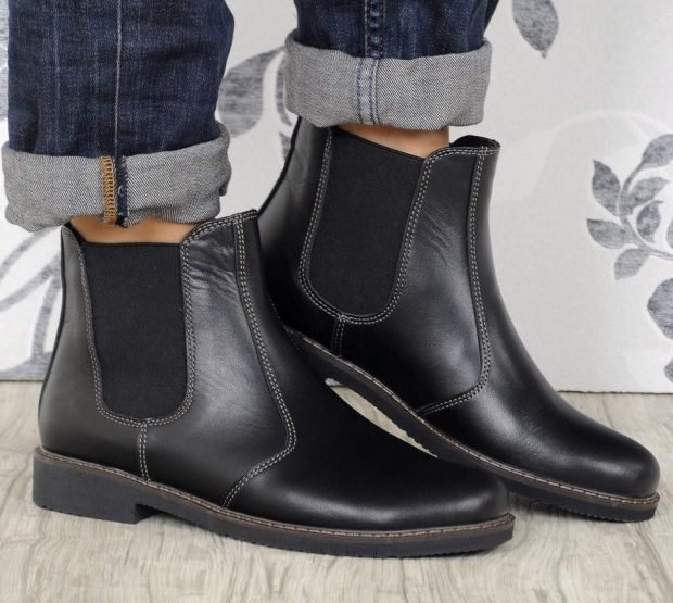 модные низкие ботинки женские осень-зима 2018 2019 фото