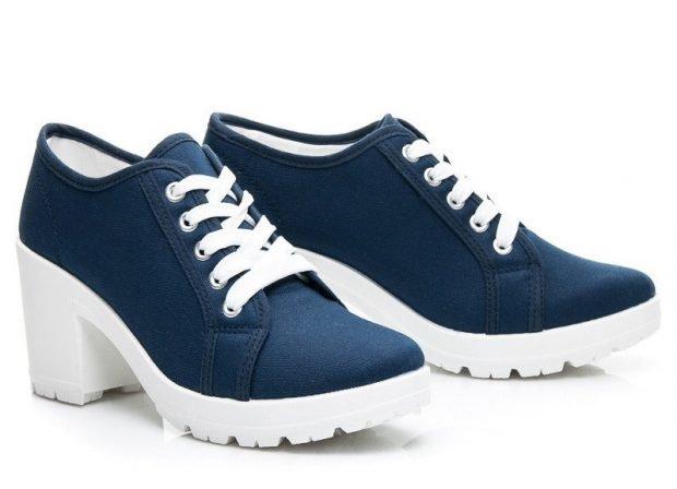 туфли осень зима 2019 2020: модные со шнуровкой