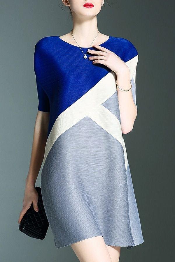 с чем сочетается синий цвет в одежде: модные оттенки