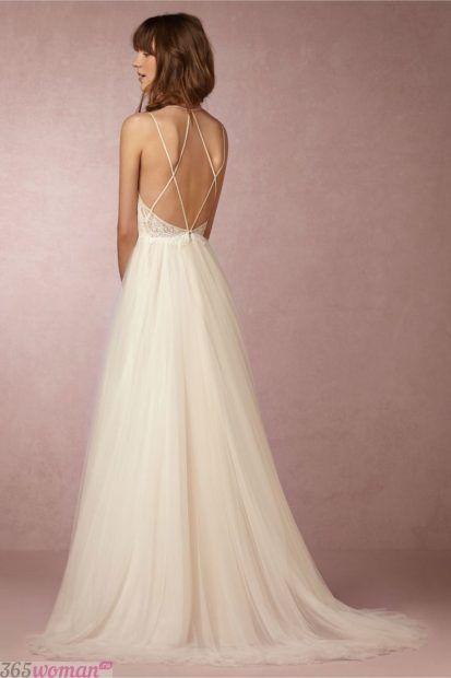 платья с открытой спиной в стиле ампир