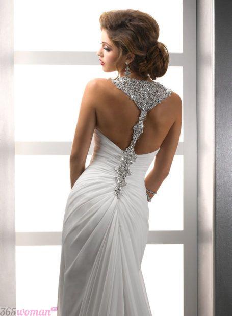 украшения для свадебного платья