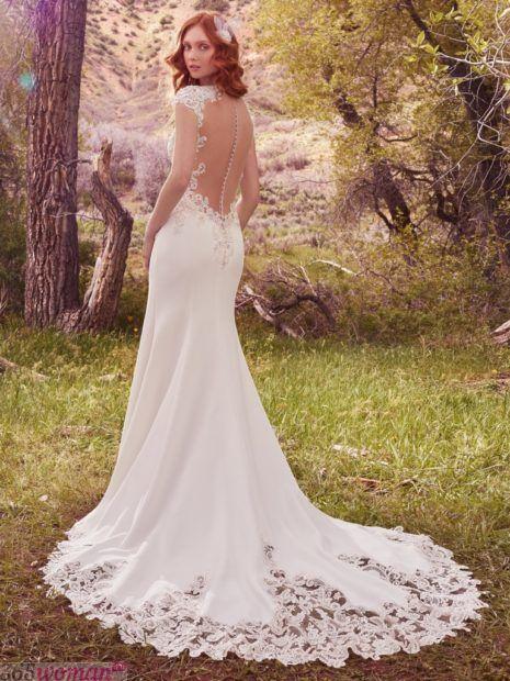 длинные свадебные платья: со шлейфом